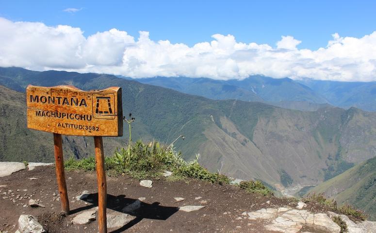 Mirador Montana Machu Picchu