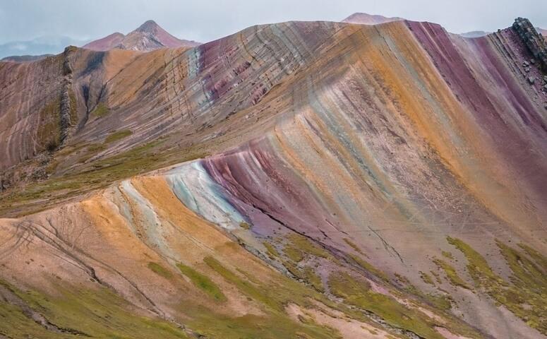 Palccoyo regenbogenberg sicht
