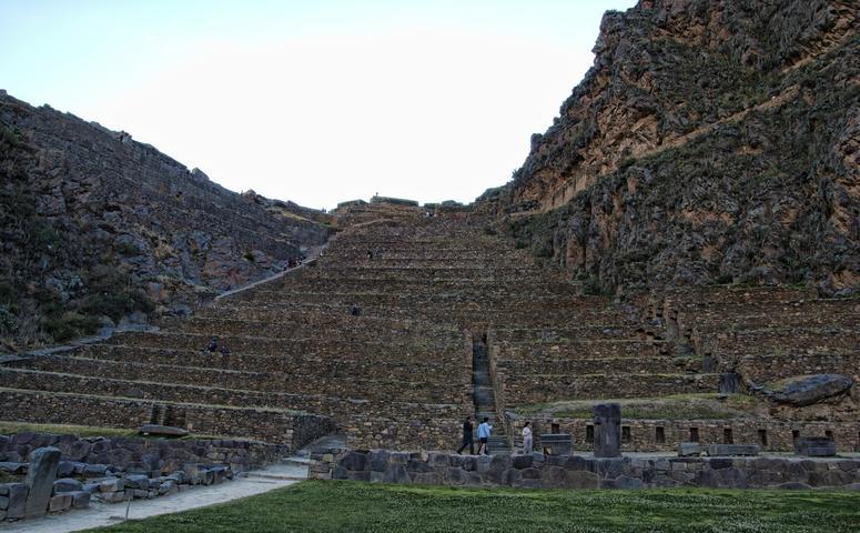 Ollantaytambo ruinen