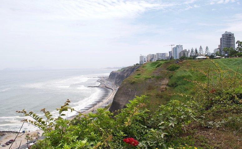 Sicht von Miraflores Lima