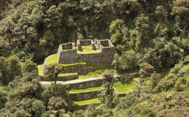 Ruinas camino inca