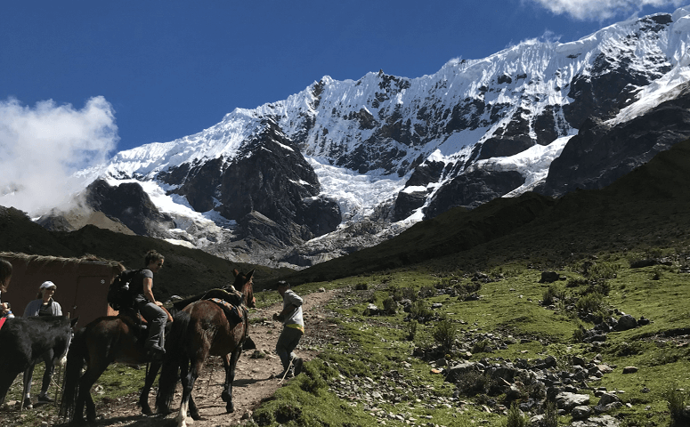 Mountain humantay lake hike