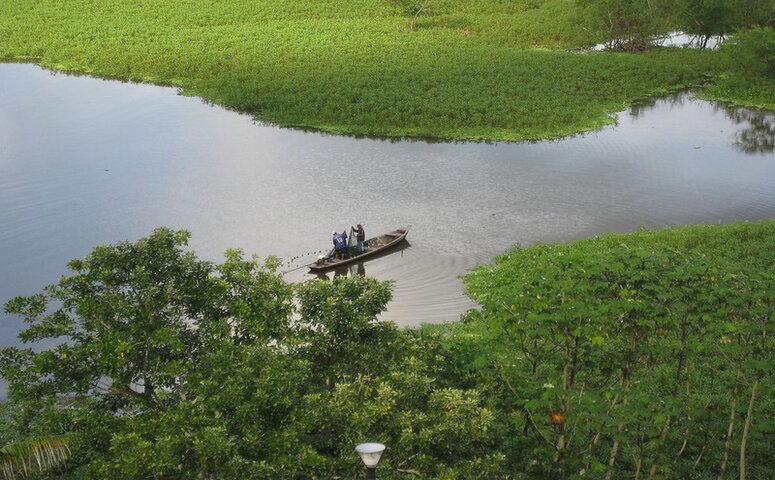 boot auf amazonas fluss
