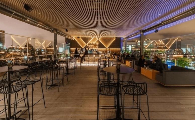 celeste solar rooftop bar lima