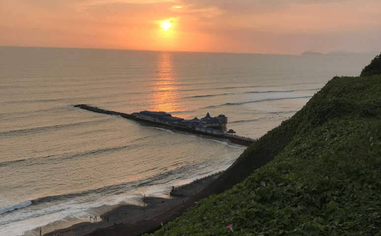 Sonnenuntergang in Miraflores