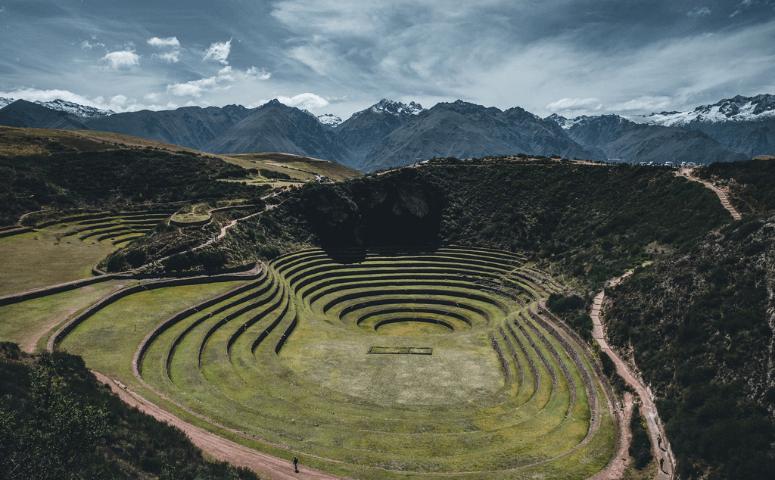 moray ruin sacred valley