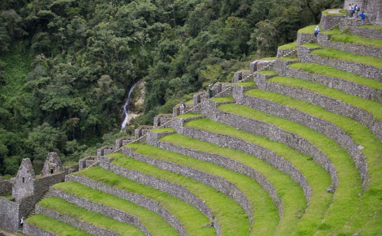 ruinas en camino inca